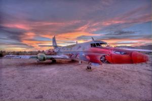 Pima Air & Space Museum's Supersonica by artist KennyScharf