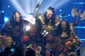 Finns 'turn the amps up,' win Eurovision