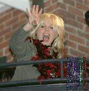 Britney Spears celebrates Mardi Gras