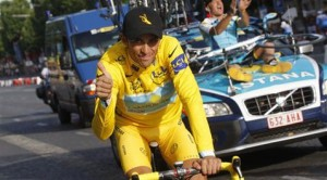 Contador wins Tour de France; Armstrong 3rd