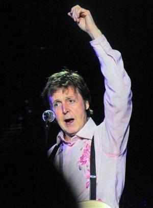 Paul McCartney gives charity concert in Ukraine