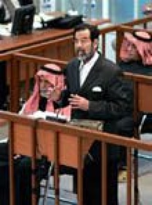 Saddam trial resumes, then is postponed