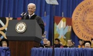 Biden to grads: You can shape history