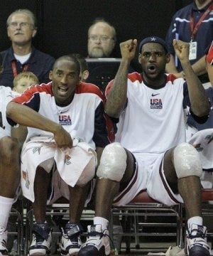 James, Bryant to lead US Olympic basketball team 