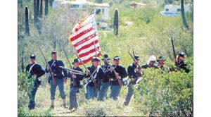 Arizona's famous Civil War battleground comes back to life each year with a rollicking re-enactment