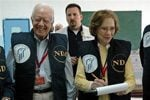 Jimmy Carter, wife mark 60th anniversary 