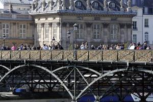France Paris Love Locks
