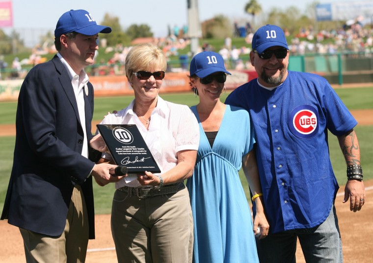 Ron Santo honored