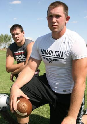 The big dawgs: Hamilton O-line ready for hype