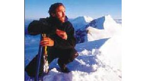 Blind mountain climber shares his highs, lows