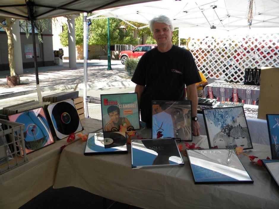 Frank Biernier at MACFest in Mesa