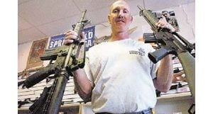 East Valley assault rifle orders rise