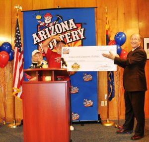 $1 million lottery prize surprises A.J. couple