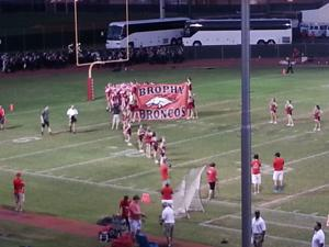 Brophy vs. Centennial football