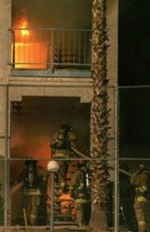 Fire destroys two downtown Mesa apartments