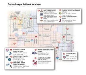 PDF: Valley Spring Training Stadium Map