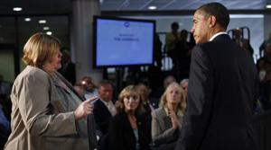 Obama delivers health care pitch