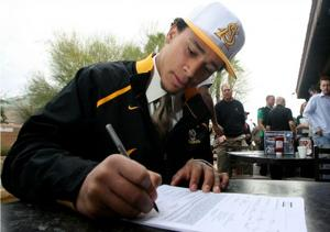 Beefy lineman among 26 ASU signees