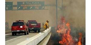 Orange County wildfire could last 'several days'