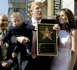 Trump gets star on Hollywood Fame Walk