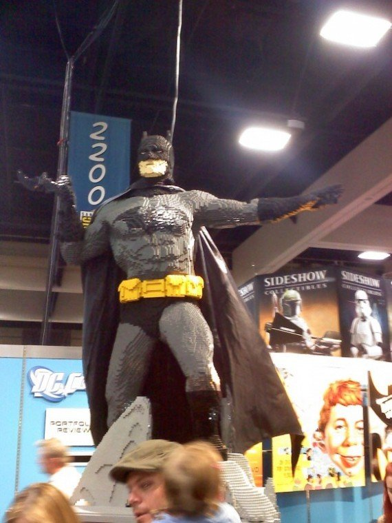 Lego Batman at Comic-Con