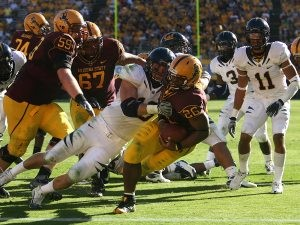 ASU football notes: Marshall steps up at RB