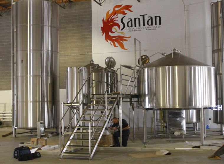 SanTan Brewing Company's second production facility