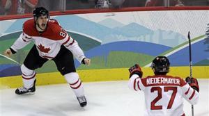 Crosby's OT goal gives Canada hockey gold