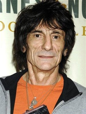 Rolling Stone guitarist Ronnie Wood enters rehab