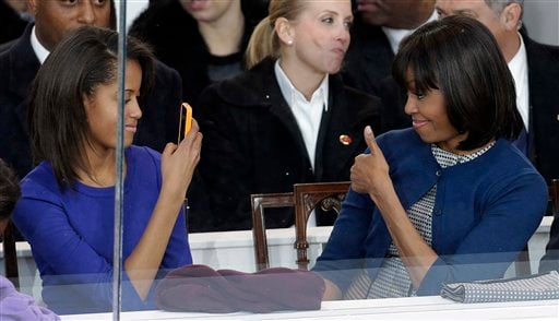 Michelle Obama, Malia Obama