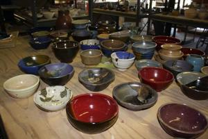 Empty Bowls for World Hunger Day