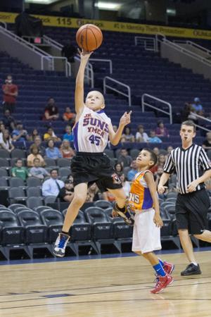 Brian Minson - YMCA Basketball Championships - US Airways Center August 12th, 2013