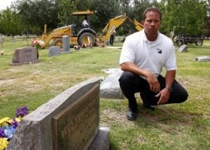 Cemetery landscapers honor the dead, soothe the living