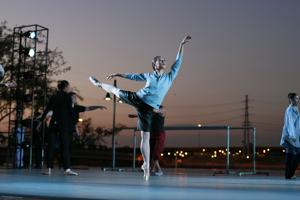 Dancers ply their art outside in 'Ballet Under the Stars'