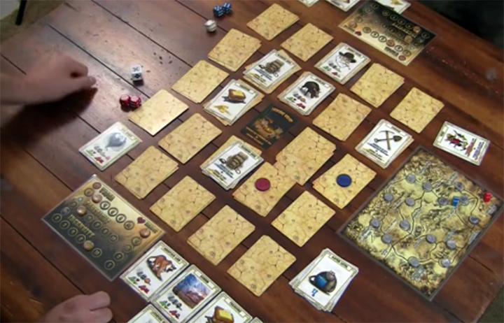 Lost Dutchman board game