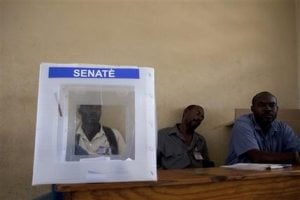 Few turn out in Haiti for delayed Senate election