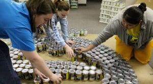 E.V. firms work on 'Canstruction' projects