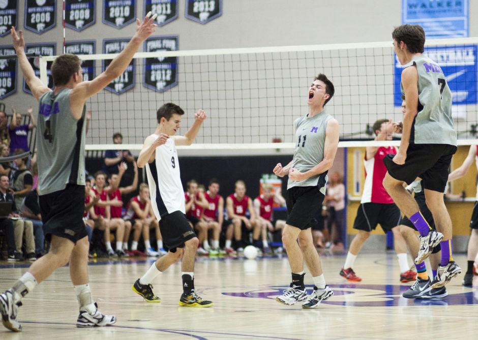 D-I Volleyball Championship: Mesa vs Boulder Creek