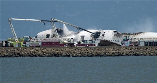 APTOPIX Plane Crash SFO
