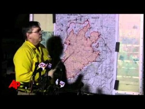 Video: Wildfire update