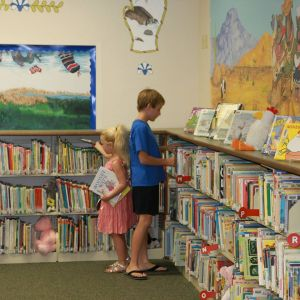 Patterson Elementary School library