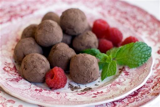 Food Healthy Chestnut Truffles