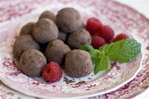 Food Healthy Chestnut Truffles
