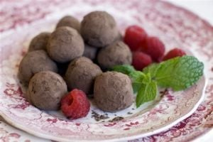 Creamy truffles without cream? Turn to chestnuts!