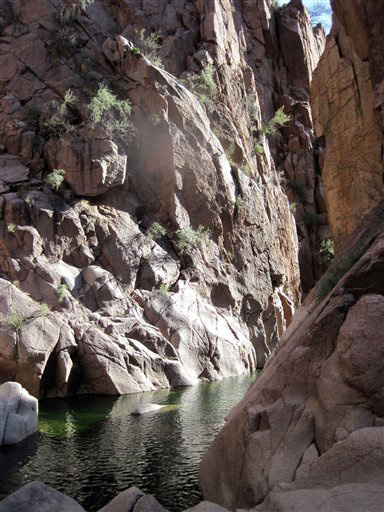 Travel-Trip-Arizona Canyoneering