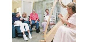 Musicians connect with local seniors
