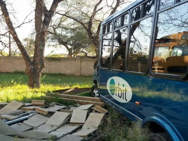 Tempe city bus theft