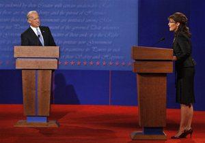 VP candidates spar on energy, taxes, war