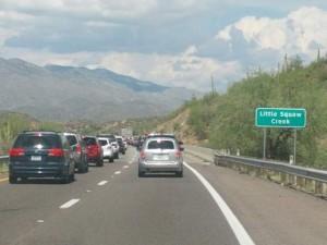 20 injured in multi car collision on I-17