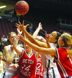 Seton Catholic girls basketball championship